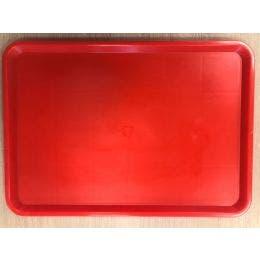 Plateau rouge 600x400 mm