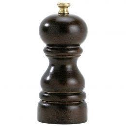 Moulin à poivre - couleur chocolat - 12 cm