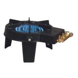 Réchaud tripode - Fonte - 1 feu - 420 x 330 x 205 mm