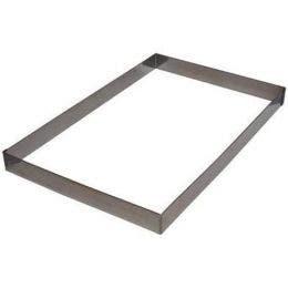 Cadre à opéra rectangulaire - 330x330 mm - Ht 35 mm