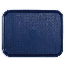 Plateau Fast food 46x36 cm bleu marine