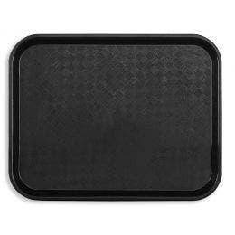 Plateau Fast food 46x36 cm noir