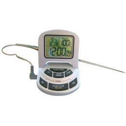 Thermomètre digital pour four avec étendue 50 à + 300°C