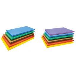 Planche 20mm polyéthylène 53x32,5x2 cm violette