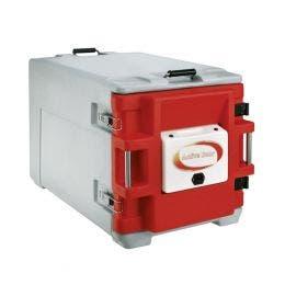 Conteneur isotherme - porte chauffante - 12GN1/1 - 90L