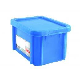 Bac HACCP avec couvercle - bleu - 15 l