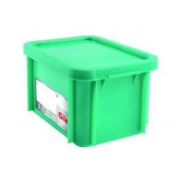 Bac HACCP avec couvercle - vert - 15 l