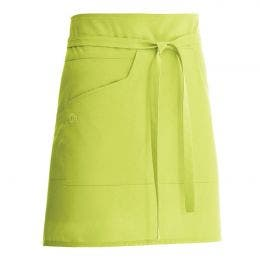 Tablier mixte Nell 45 vert anis - 65% polyester, 35% coton