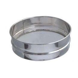 Tamis à farine en inox - ø210x60 mm