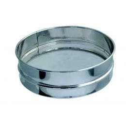 Tamis à farine en inox - ø300x70 mm