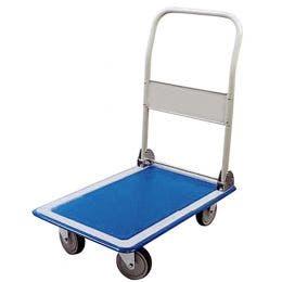 Chariot plate forme - Jusqu'à 300 kg - 900x610x880 mm