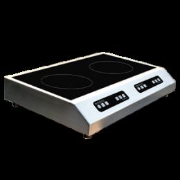 Plaque de cuisson induction - Double foyer - Modèle à poser - GLN2 3500 S