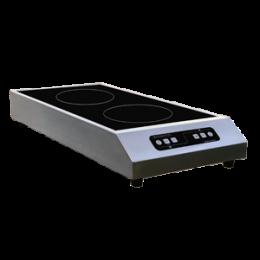 Plaque de cuisson induction double foyer - Modèle à poser - GLN2 3500 F