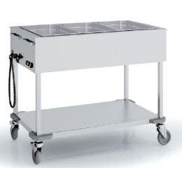 Chariot bain marie - CBMS-3GN