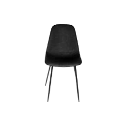 Chaise gamme Amber - Noir