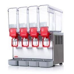 Distributeur de boissons froides 4x8 litres - COMPACT8/4