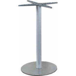 Pied de table Carbet - base ronde en inox