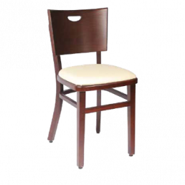 Chaise gamme Bistrot Confort - crème