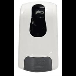 Distributeur manuel de savon pour les mains - Blanc