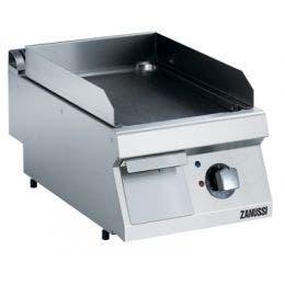 Fry top électrique - plaque lisse - 400 mm