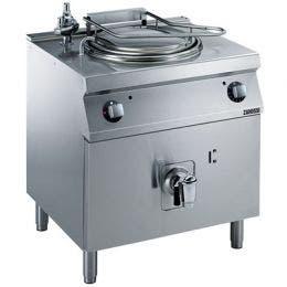 Marmite électrique 60 l chauffe indirect soupape de sécurité