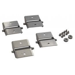 Kit 4 roues pour machines frontales double isolation