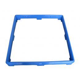 Réhausse bleu pour casier 500x500x50 mm