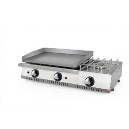 Plancha 600 économique avec fourneau - PLC600ECF