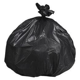 Sac poubelle/housse noir de 240 L - 1150x1350 mm