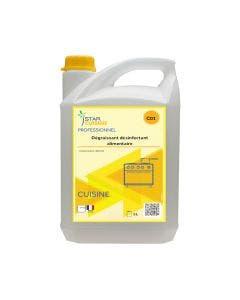 Dégraissant désinfectant alimentaire - 5 L