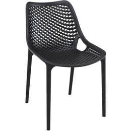 Chaise AIR - noir - 50 x 60 x 82 cm