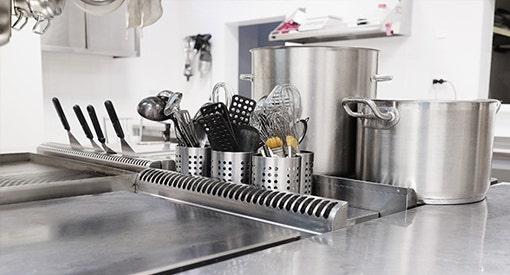 Un matériel de cuisine idéal pour un service de restauration efficace